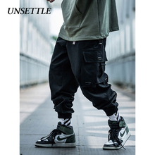UNSETTLE 2019 Japanese Side Pocket Cargo Harem Pants Mens Ca