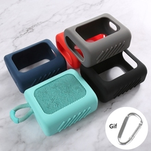 Chống Bụi Ốp Lưng Silicon Bảo Vệ Vỏ Chống Rơi Loa Dành Cho JBL GO 3 GO3 Bluetooth phụ Kiện Loa