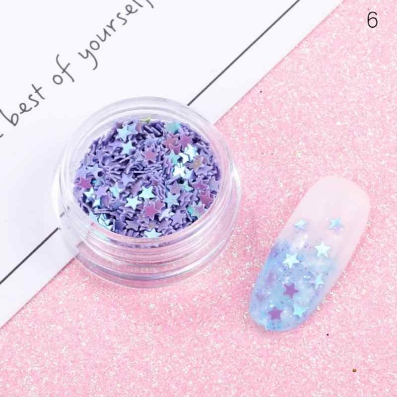 12Pots/ชุดเล็บGlitter Flakes Mermaidไข่มุกStarกระจกสีสันSequinsภาษาโปลิชคำChromeสำหรับเล็บDIYเล็บArtตกแต่ง