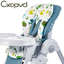 Mat Seats Booster Highchair Baby Kids Cushion-Mat New Stroller 100%Cotton