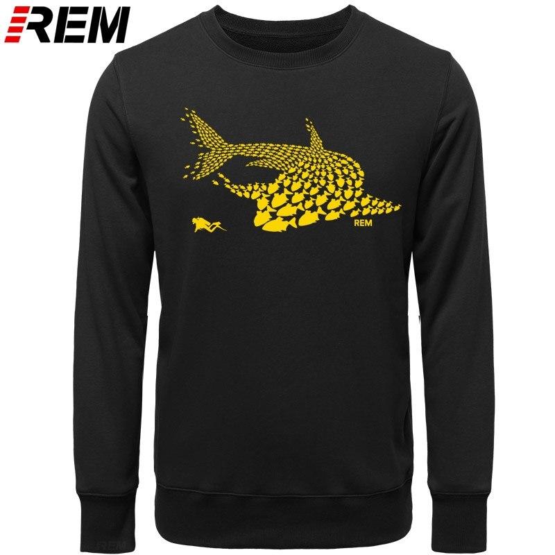 Image 4 - Rem hoodies mergulho peixe tubarão mergulhador tanque máscara engraçado presente de aniversário legal casual orgulho masculino unissex hoodies, camisolasAgasalhos e Moletons   -