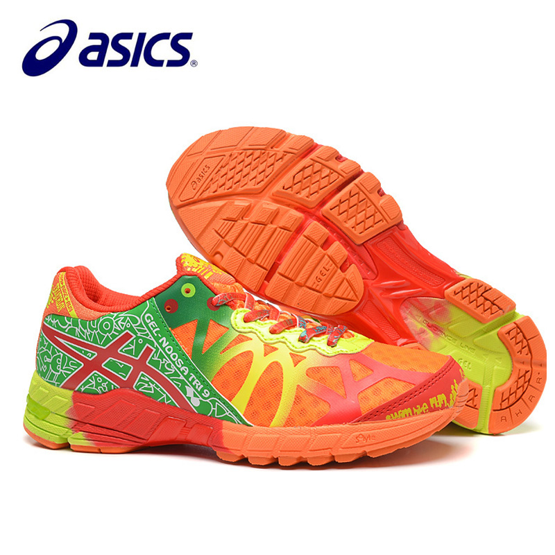 Original Asics-Gel-Noosa TRI9 Man's Sport Shoes Breathable Stable Running Shoes Outdoor Tennis Shoes Classic Asics's Sneakers