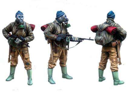 1/35 Resin Kits New Soldier 1pc