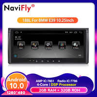 10.25inch Android 10.0 Car DVD radio player for bmw E39 X5 E53 With GPS BT RDS USB SD Steering wheel 2G RAM 16G ROM WIFI