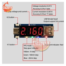 Digital Voltmeter Detection-Tester Trigger-Decoy Fast-Charge Type-C DC PD Full-Protocol-Pps
