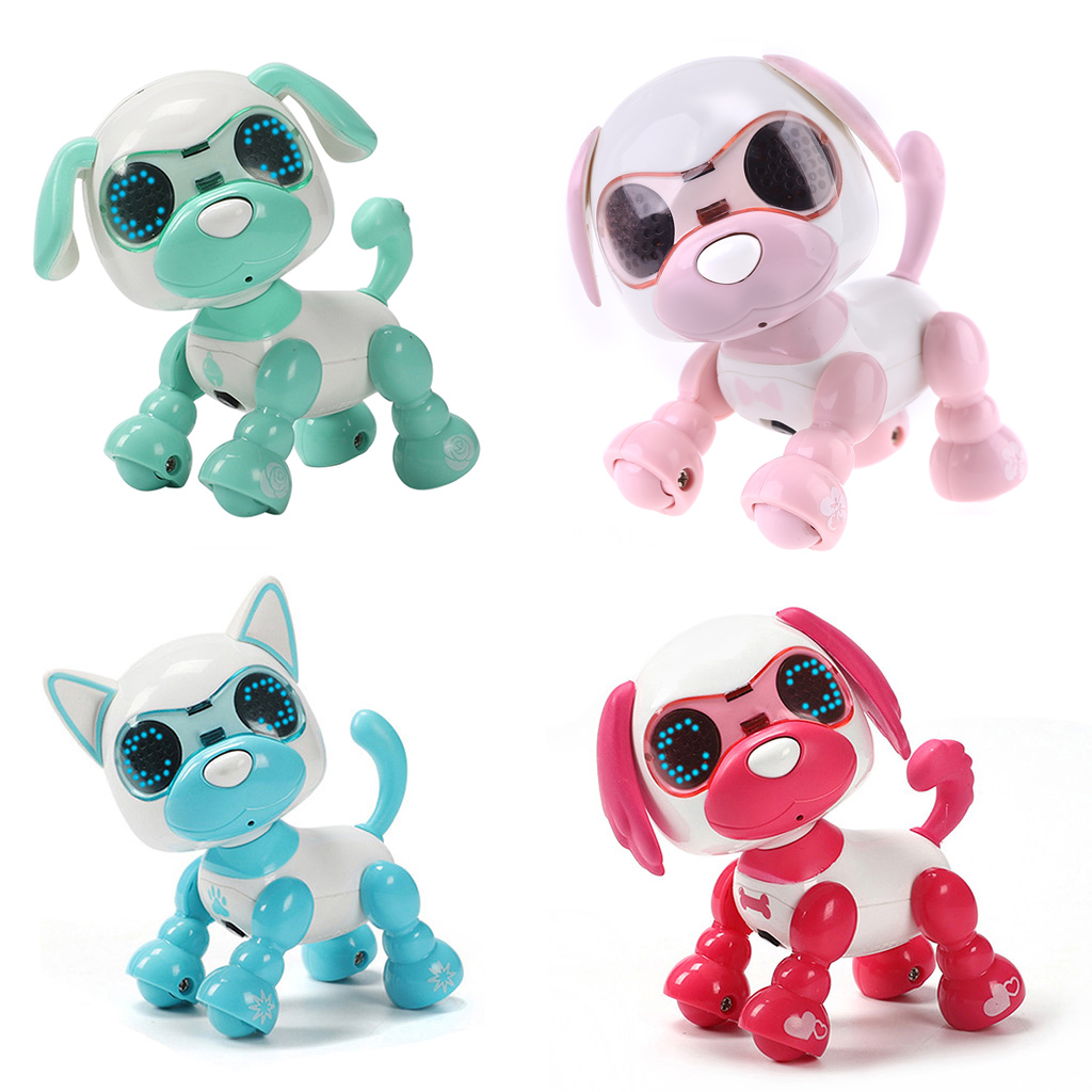 Robot Dog Robotic Puppy Interactive Toy Birthday Gifts Christmas Present Toy For Children Kids