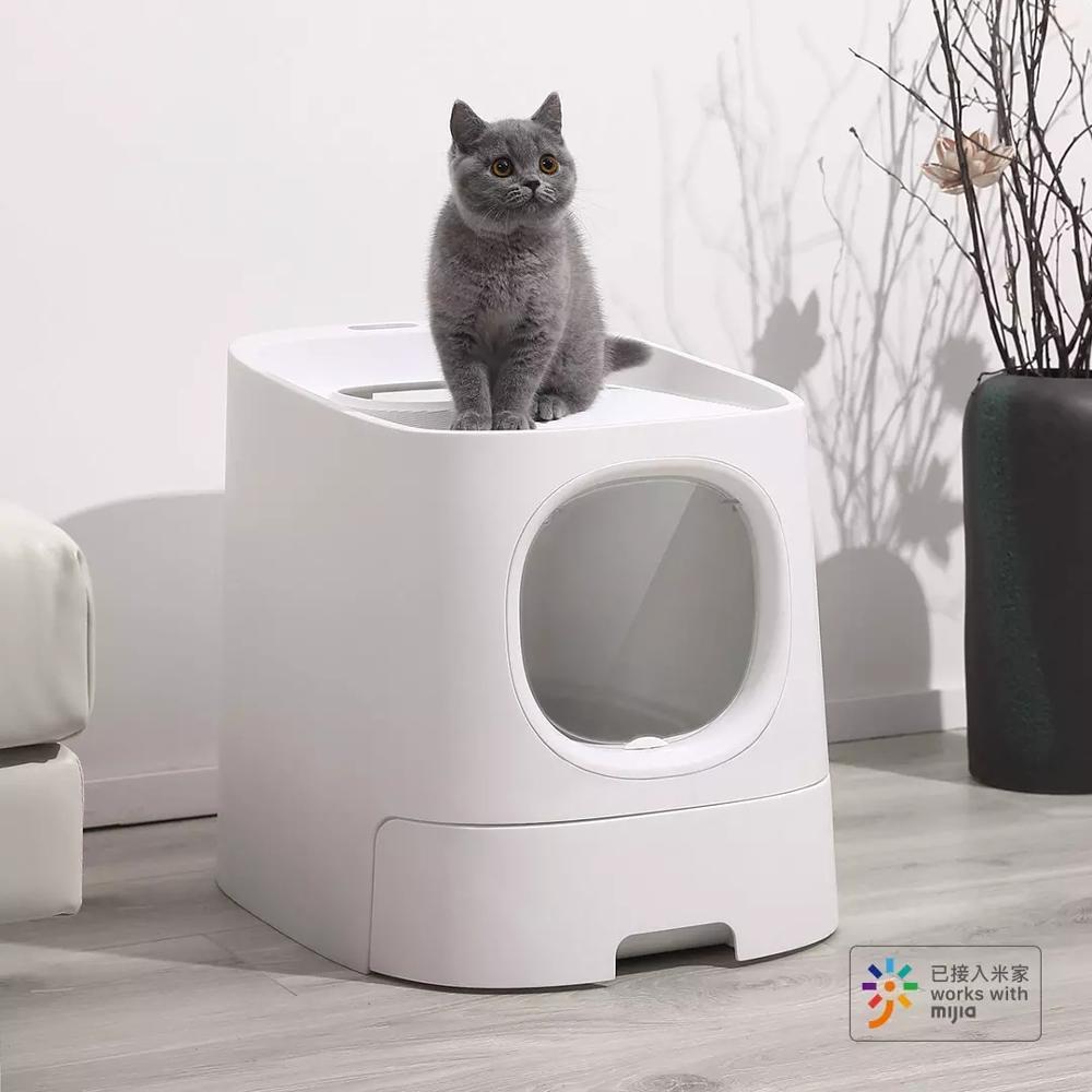 fechado automatico desodorizante gato toalete suprimentos para 05