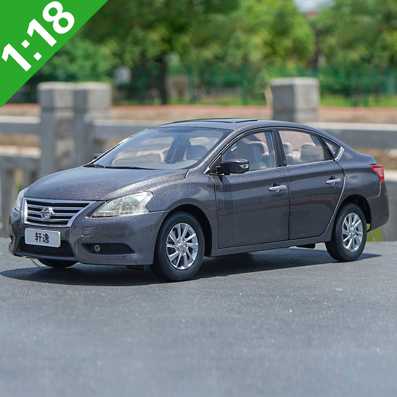 1:18 High Meticulous Nissan SYLPHY Alloy Model Car Static Metal Model Vehicles With Original Box For Collectibles Gift