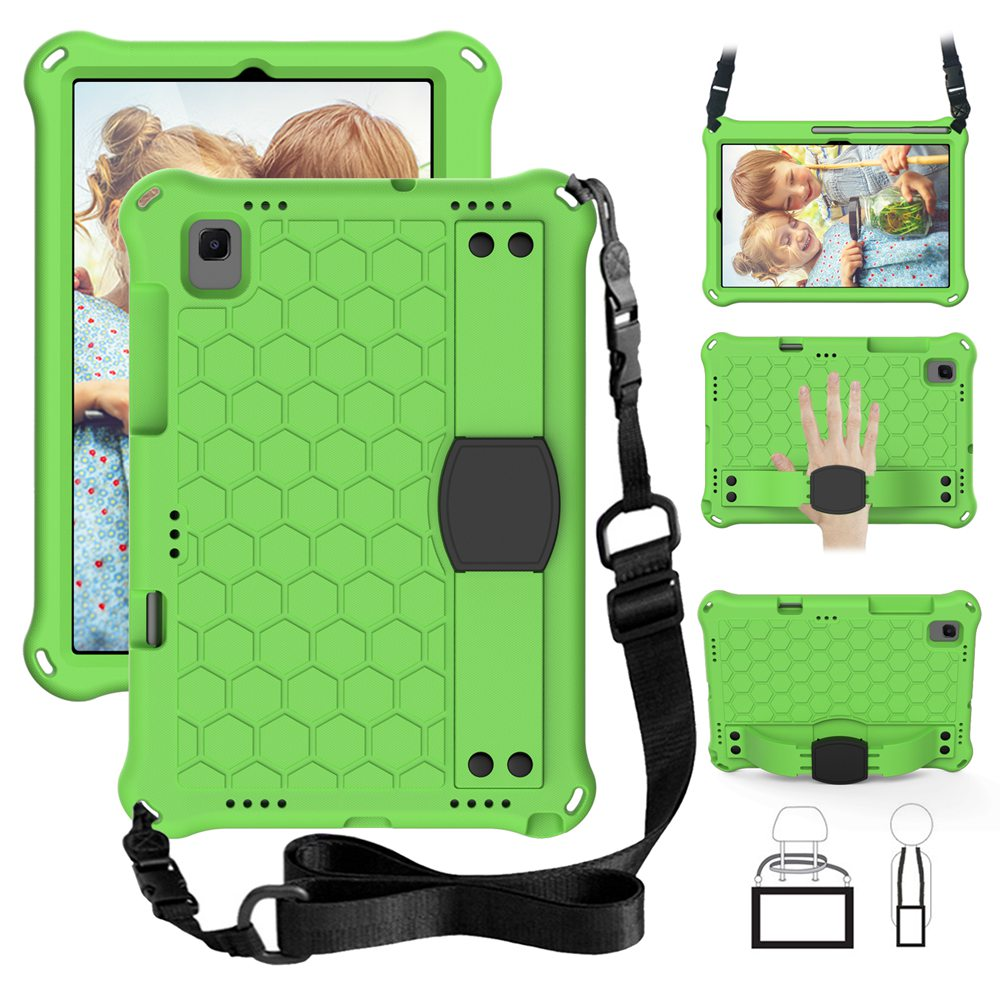 For Samsung Galaxy Tab A7 10.4 2020 with strap EVA materials tablet cover for Galaxy Tab S5e S6 Kids case for SM-T500 T720 T860-5