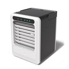 Портативный Кондиционер мини USB вентилятор охлаждения охлаждающий увлажнитель воздуха 3 передач домашний Кондиционер быстрый и легкий способ охлаждения