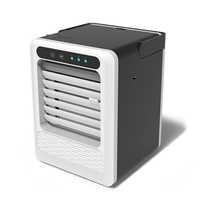 Climatiseur Portable Mini USB refroidisseur d'air ventilateur refroidissement humidificateur 3 vitesses accueil chambre climatisation rapide et facile moyen de refroidir