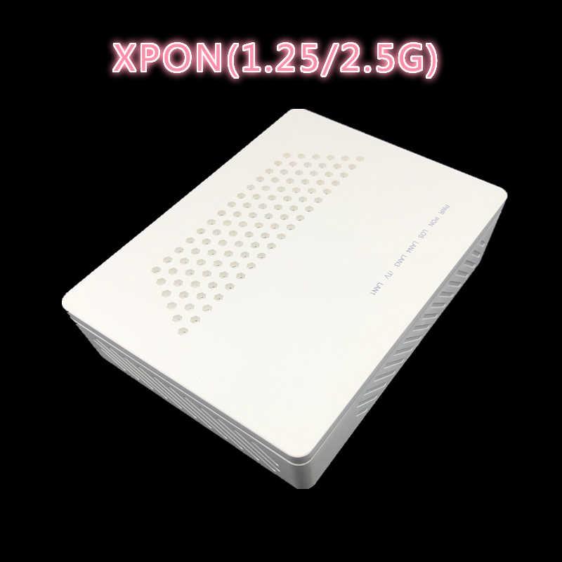 1GE + 3FE ONU EPON 1.25G GPON 2.5G XPON (1.25g/2.5g) ONU مع شبكة FTTH onu مودم شبكة WIFI 10/100/1000M RJ45 ل OLT التبديل