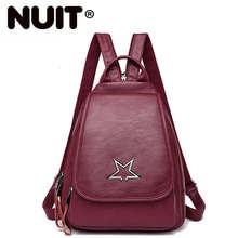 Women Backpack High Quality Leather Backpacks For Teenage Girls Mochilas Vintage Bagpack Ladies School Bags For Girls New women backpacks genuine leather famous brand ladies backpack for teenage girls school bags fashion mochilas japan korean style