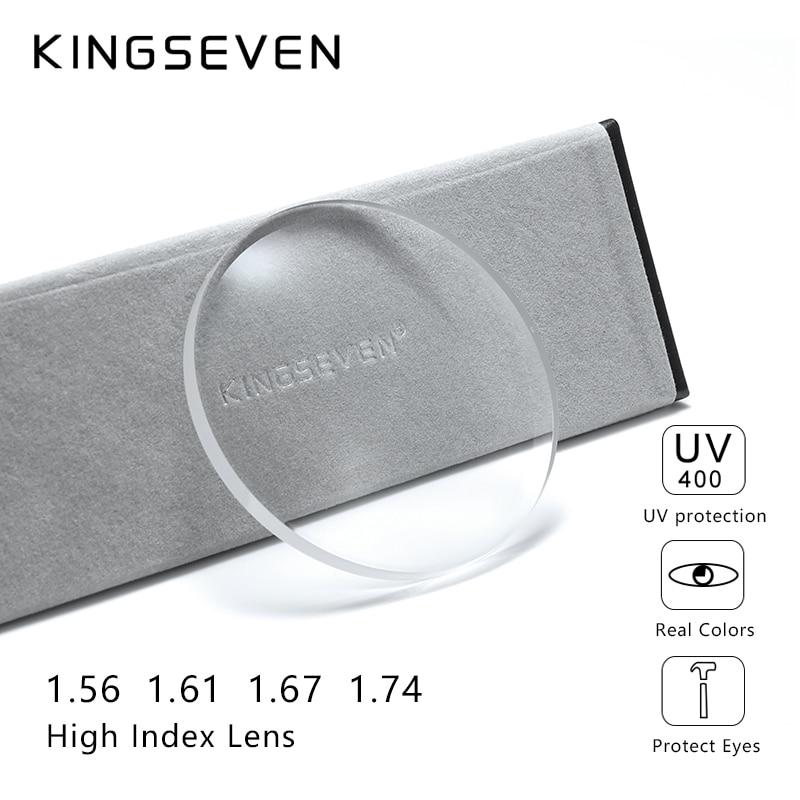 KINGSEVEN Prescription Series 1.56 1.61 1.67 1.74 CR-39 Resin Aspheric Glasses Lenses Myopia Hyperopia Presbyopia Optical Lens