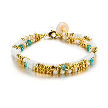 New Summer Womens Gold Multilayer Anklet Beach Shell Charm Jewelry Simple Beaded Hot Sale Ankle Accessories 2019