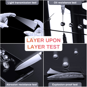 Image 5 - Full Cover 30D Protective Glass For iPhone 7 6 6s X Tempered glass on iPhone 7 8 Plus Xr Xs 11 pro Max X Screen Protector