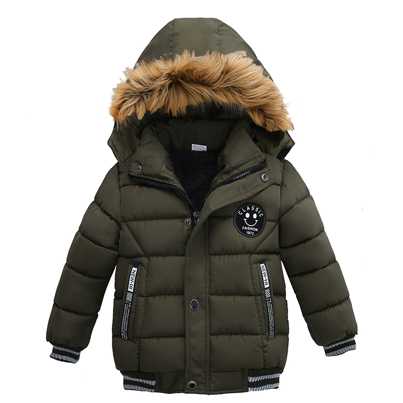 2021 NEW High Quality Winter Child Boy Down Jacket Parka Big Girl Thicking Warm Coat 2 3 4 5 6 Year Light Hooded Outerwears 4