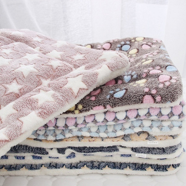 Dog Soft Wool Mat Blanket  2