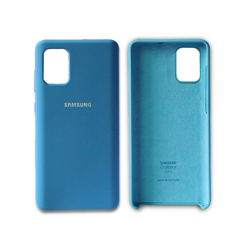 A51 Original Back Case Liquid Silicone Silky Soft Case For Galaxy A71 Protective Case Shockproof Phone Case