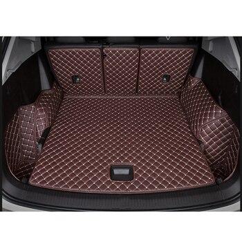 Изготовленным на заказ логосом коврик для багажника автомобиля для Audi все модели A1 A3 A8 A7 Q3 Q5 Q7 A4 A5 A6 S3 S5 S6 S7 S8 R8 TT SQ5 SR4-7 стайлинга автомобилей