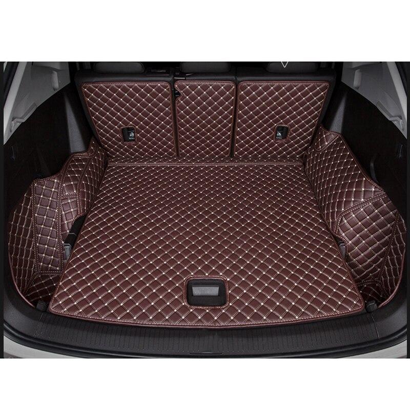 Custom Logo Car Trunk Mat For Audi All Model A1 A3 A8 A7 Q3 Q5 Q7 A4 A5 A6 S3 S5 S6 S7 S8 R8 TT SQ5 SR4-7 Car Styling
