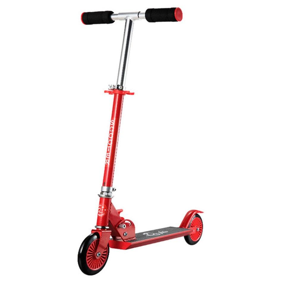 Самокат складной Фристайл Уличный Скейтборд цикл Ховерборд скейтборд Регулируемый 2 колеса 120 мм детский подарок для мальчика девочки - Цвет: Model 4