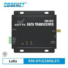 SX1262 SX1268 E90 DTU 230SL37 โมดูลLora 230MHz 37dBm RSSIเครือข่ายรีเลย์Modbus LBT RS232 RS485 วิทยุไร้สาย
