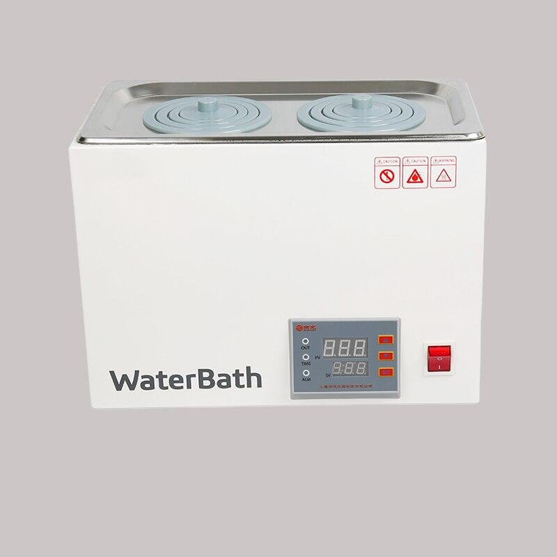 DXY digital thermostat water bath hot bath pot Digital constant temperature Water Bath Labs Experiments 1/2/4/6 holes - 2