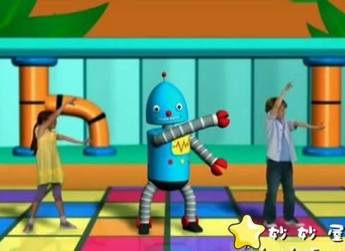 迪士尼10集短動畫:《舞蹈機器人 Dance-A-Lot Robot》,真人加動畫教小朋友跳舞圖片