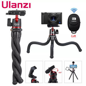 Ulanzi MT-11 Travel Flexible Octopus Tripod for Smartphone DSLR SLR Vlog Tripod for Camera