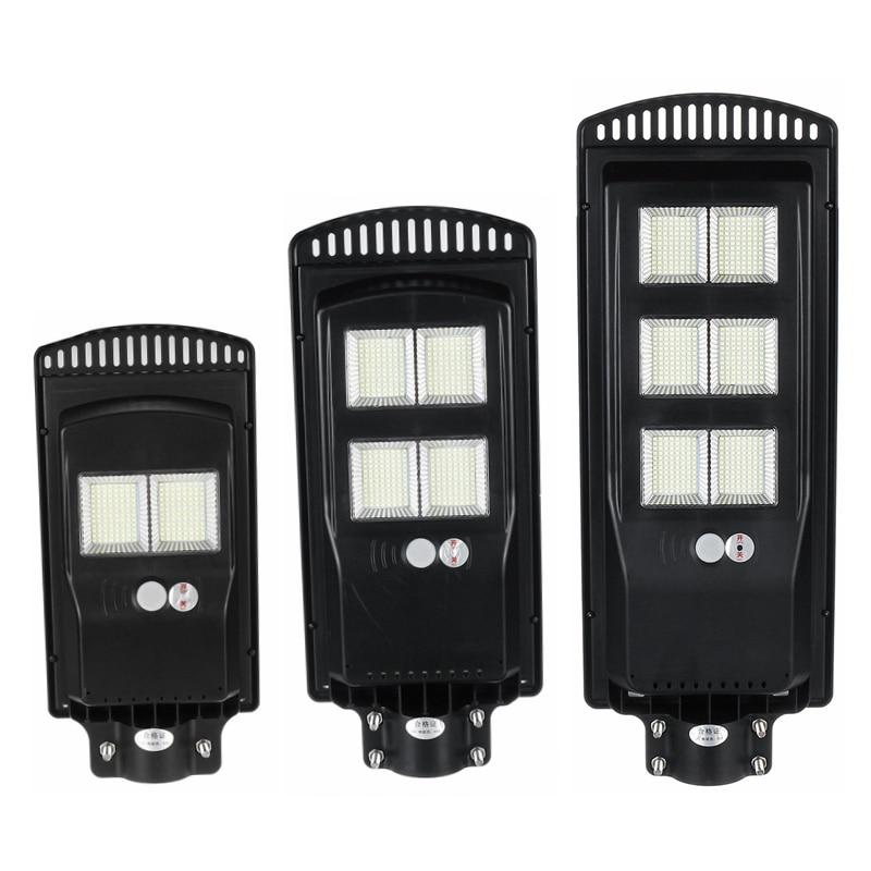 600W 1200W 1800W LED Solar Street Light Outdoor Solar Wall Lamp Radar+PIR Human Induction Solar Waterproof Landscape Light