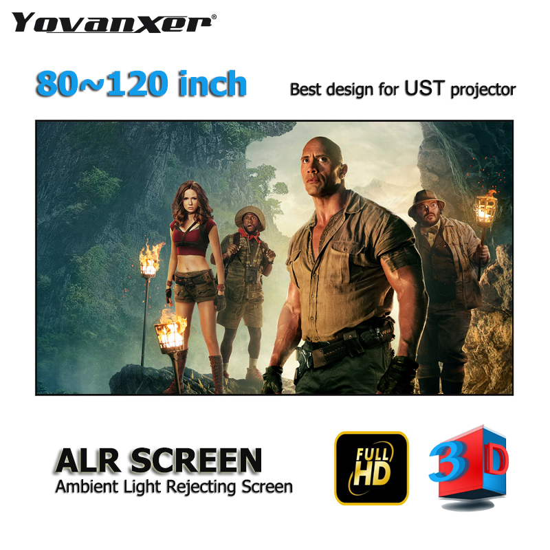 ALR Ambient Light Rejecting Projector Screen 80-120