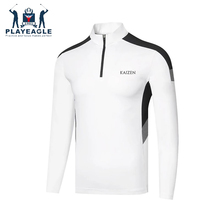 Cheap Price Man Golf Tshirts Long Sleeves White Sport shirt