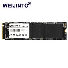 M 2 PCIe SSD M2 120gb 128GB 256GB 512GB 1024GB PCIe NVMe M 2 SSD 2280 mm SSD 1tb HDD Laptop wewnętrzny dysk twardy tanie tanio weijinto M 2 2280 Nowy SM2263XT Read 800-2400MB s Write 500-1700mb s Pci-e Pulpit NOt NVMe TLC MLC QLC