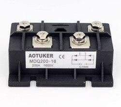AOTUKER Bridge Stack MDQ200-16 Single-Phase Rectifier Module