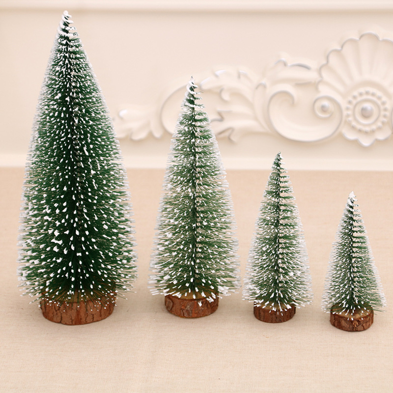 Mini Christmas Tree Cedar Desktop Small Christmas Tree Desktop Showcase Tabletop Christmas Gift Christmas Decorations