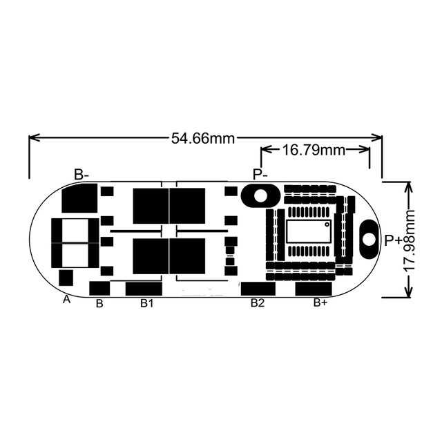 BMS 25A 3S 12,6 V 4S 16,8 V 5S 21V 18650 Li-Ion Lithium-Batterie Schutz Schaltung lade Board Modul PCM Polymer Lipo Zelle PCB