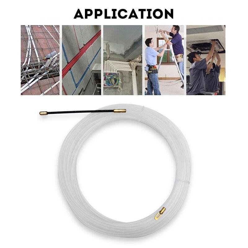 Нейлоновый проводной кабель, Электрический рыболовный ленточный съемник, фотоустройство для электрика J8