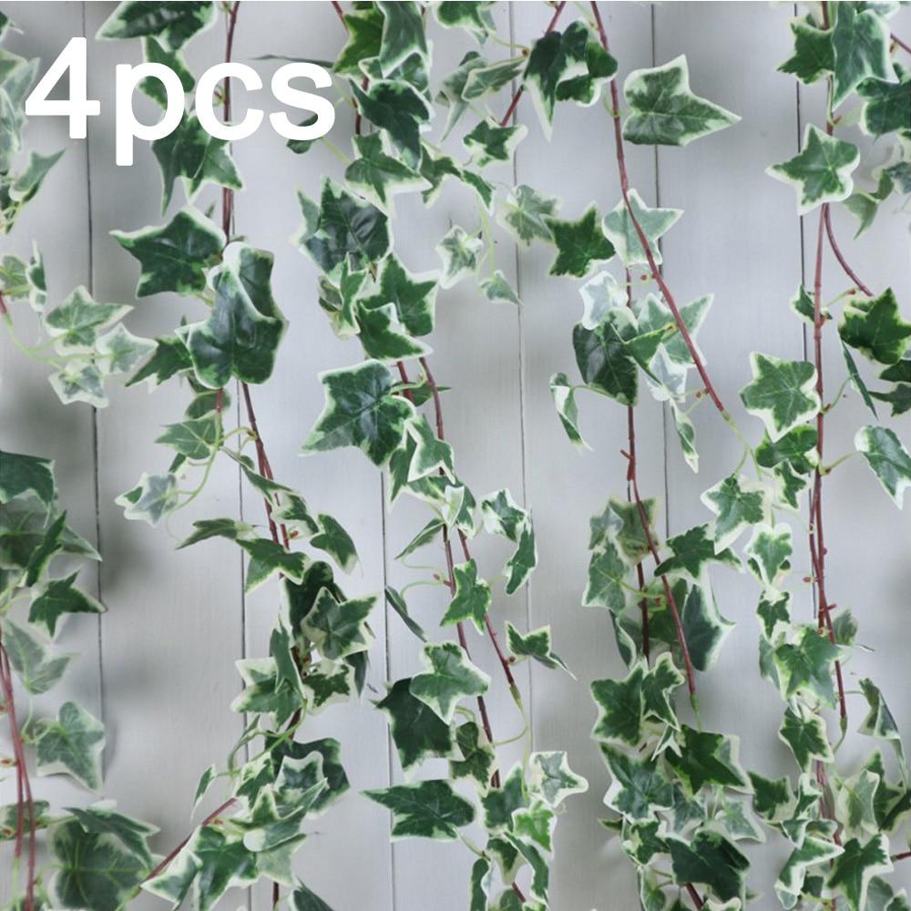 Fake Plants Foliage Trailing Ivy Vine Garland Leaf Flower Artificial Hanging