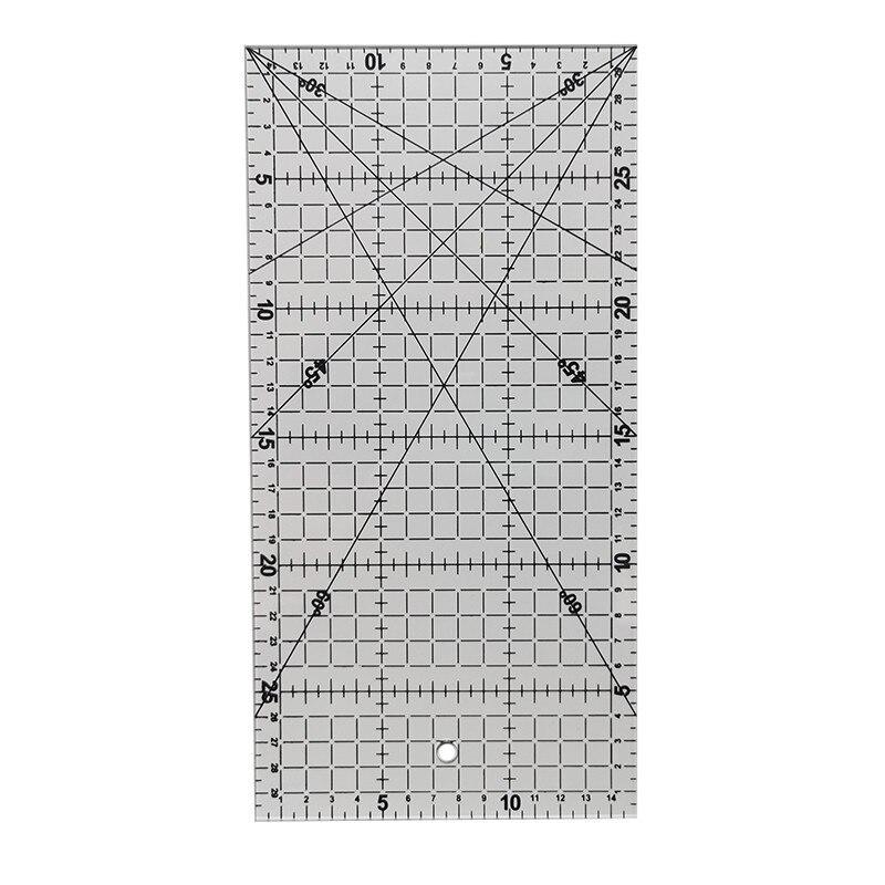 Patchwork Ruler Office School Supplies Educational Supplies Drafting Supplies 30cm Rulers Sewing Tools Accessory 30 * 15cm