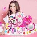 Детский набор для макияжа  набор для девочек  косметический набор  безопасность красоты  нетоксичный набор  игрушки для девочки  повязка при...