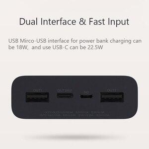 Image 3 - Xiaomi ZMI Power Bank 20000MAh QB822 3 Cổng USB Loại C 27W PD Nhanh Sạc Di Động Powerbank 20000 Bên Ngoài pin Poverbank