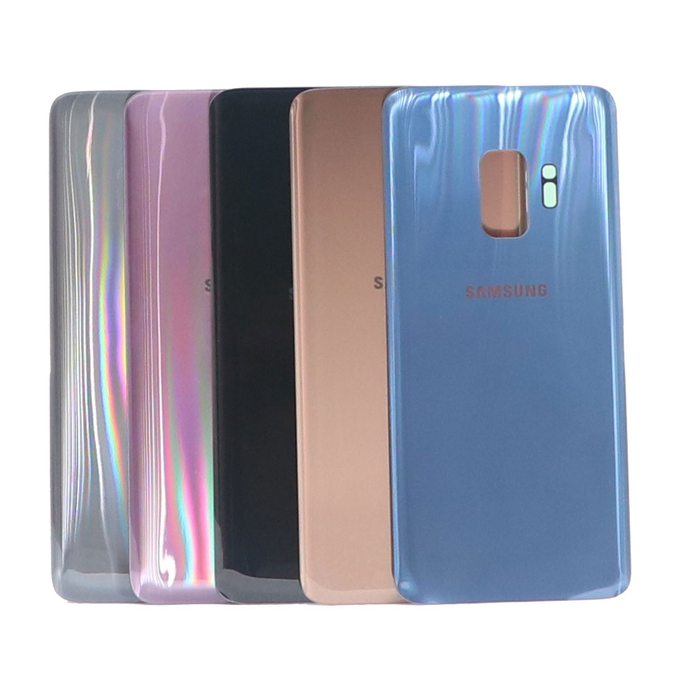High quality <font><b>Back</b></font> Battery Cover For Samsung Galaxy S9 Plus s9+ G965 SM-G965F G965FD S9 <font><b>G960</b></font> SM-G960F G960FD <font><b>Back</b></font> Rear Glass Case image