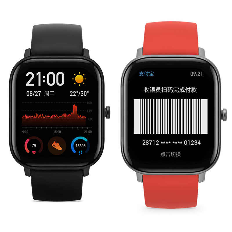 1/2/5pcs רך ירוק עין מסכת TPU אנטי-שמן מים הוכחה עבור Xiaomi Amazfit GTS מלא HD TPU חכם סרט שעון