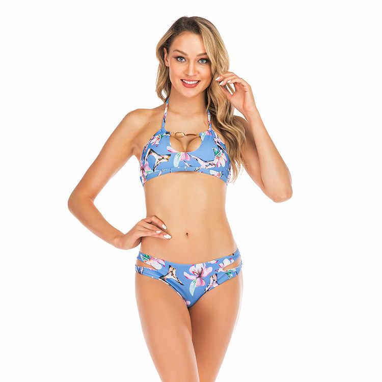 2020 Nieuwe Bikini Vrouwen Badmode Luipaard Bikini Sexy Biquini Badpak Push Up Badpak Vrouwelijke Beachwear Zwemmen Bikini Vrouwen Xl