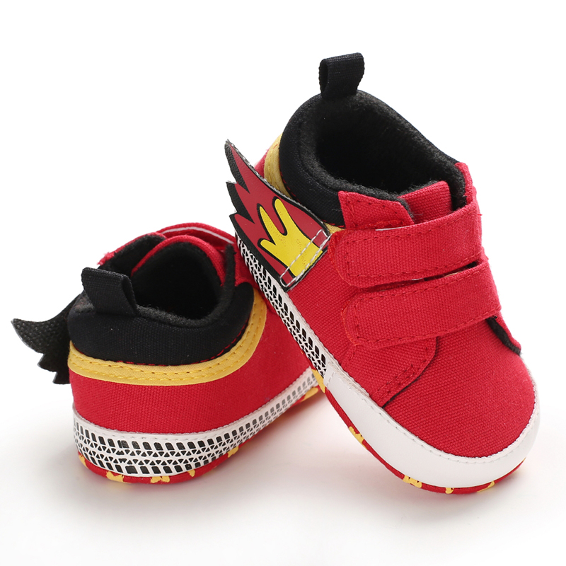 Soft Sole Baby Shoes Newborn Baby Shoes Cute Canvas Letter Boys Girls First Walkers Girl Shoes Toddler Infant Girl Shoes