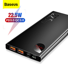 Baseus 5A SCP Power Bank Quick Charge 3.0 USB C PD 10000mAh