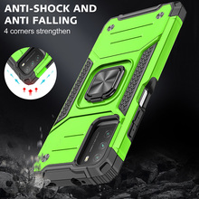 Drop resistance Military Rugged Case For Poco M3 Armor Fall resistant impact Shock proof Shield Cover