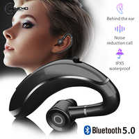Car Handsfree Bluetooth Kit Hand-Free Headset Hand free Wireless Bluetooth 5.0 carkit Earphone Headphone For Mobile Phone