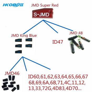 HKOBDII 10 50 100 sztuk król JMD niebieski układ czerwony układ JMD48 JMD46 JMD Super czerwony wielofunkcyjny układ dla Handy Baby1 Handy Baby2 tanie i dobre opinie CN (pochodzenie) 46 4C 4D G JMD Chip caramics China JMD king Chip